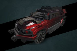 Criminal Waragi LAV Vehicle + Kit