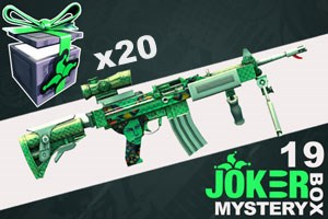 Joker Mystery Box 19 (20 Pack + 5 Bonus)
