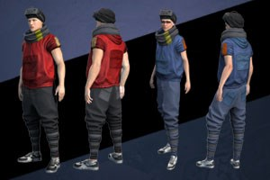 Cyberpunk Clothing Pack