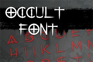 Occult Font