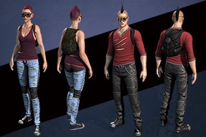 Punk Clothing Pack