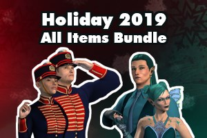 Holiday 2019 All Items Bundle (Account Lifetime)