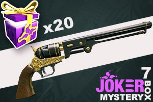 Joker Mystery Box 7 (20 Pack + 5 Bonus)