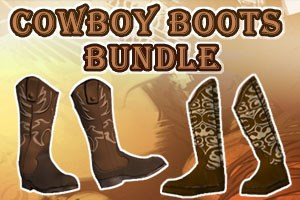 Cowboy Boots Bundle (Account Lifetime)