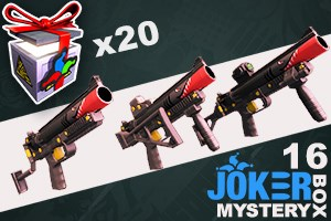 Joker Mystery Box 16 - 20 Pack + 25 Free!