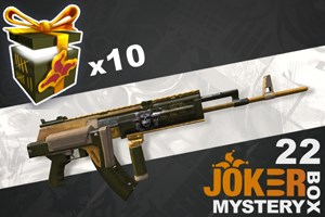 Joker Mystery Box 22 (10 Pack + 2 Bonus)