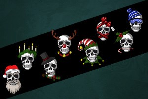 Slay Bells Decal Sheet