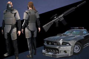 Armored Urban Warfare Pack
