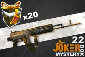 Joker Mystery Box 22 (20 Pack + 5 Bonus)