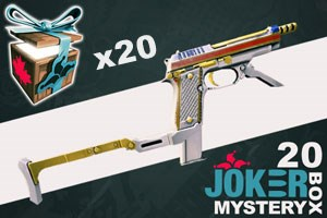 Joker Mystery Box 20 (20 Pack + 5 Bonus)