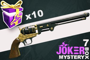 Joker Mystery Box 7 (10 Pack + 2 Bonus)