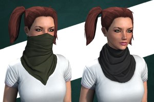 Desert Scarf (Female Only)