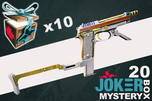 Joker Mystery Box 20 (10 Pack + 2 Bonus)