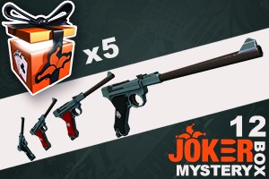 Joker Mystery Box 12 (5 Pack + 1 Bonus)