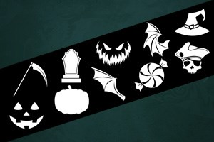 Halloween Costume Symbol Sheet