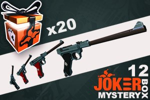 Joker Mystery Box 12 (20 Pack + 5 Bonus)