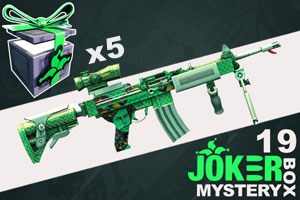 Joker Mystery Box 19 - 5 Pack + 6 Free!