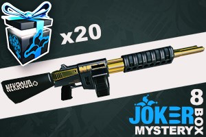 Joker Mystery Box 8 (20 Pack + 5 Bonus)