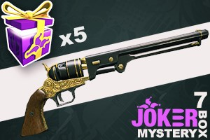 Joker Mystery Box 7 (5 Pack + 1 Bonus)