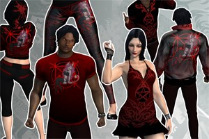 Demoness Clothing (Account Lifetime)
