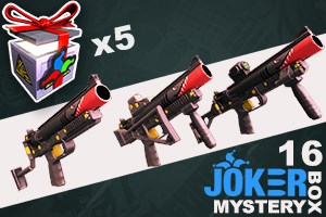 Joker Mystery Box 16 (5 Pack + 1 Bonus)