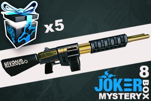 Joker Mystery Box 8 (5 Pack + 1 Bonus)