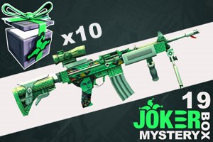 Joker Mystery Box 19 - 10 Pack + 12 Free!