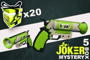 Joker Mystery Box 5 (20 Pack + 5 Bonus)